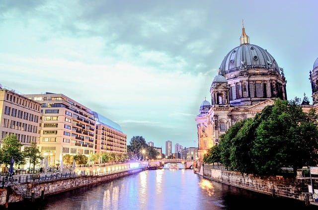 Berlin cathedral, city centre