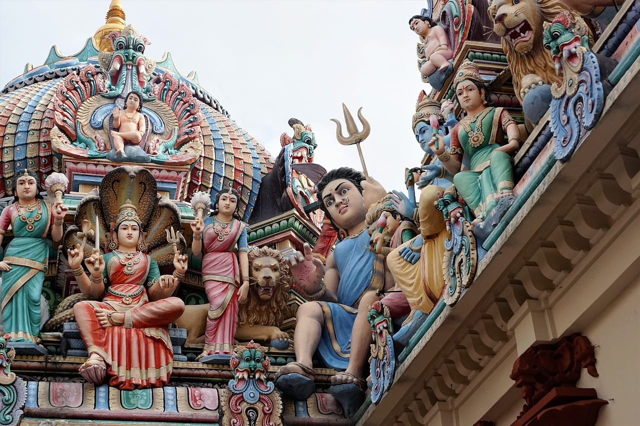 singapore Sri Mariamman Temple