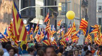 Barcelona Catalan Flag
