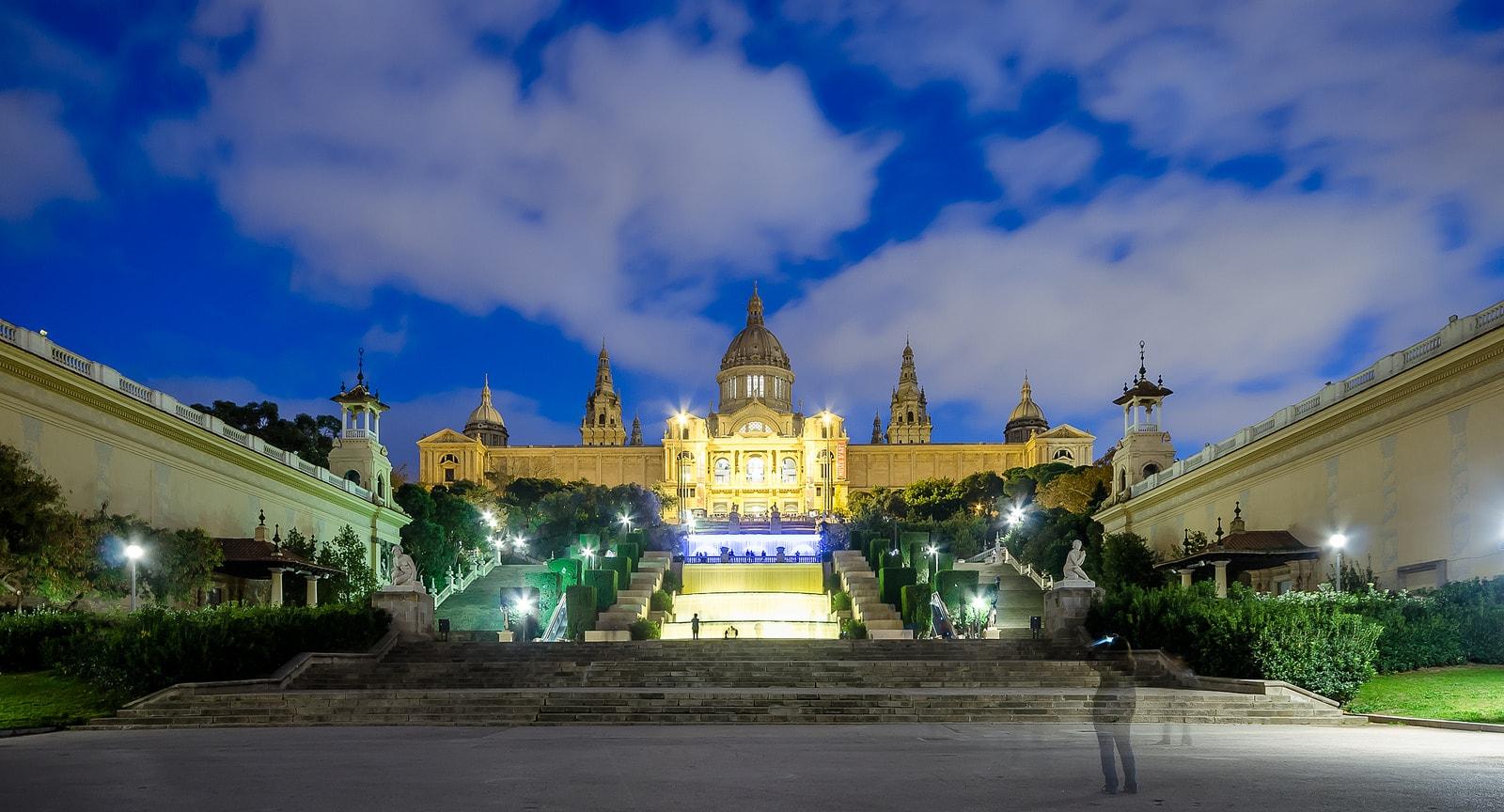National Palace night