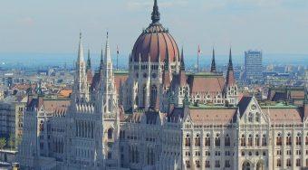 Panoramic view Budapest