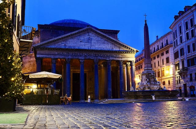 Rome the Pantheon