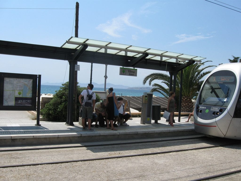 Athens Riviera by tram