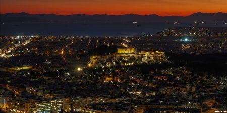 Athens by Night