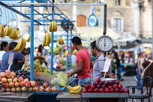 Municipal market Athens