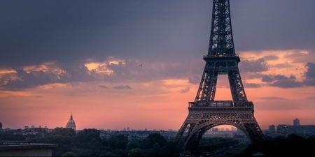 Sunset Paris