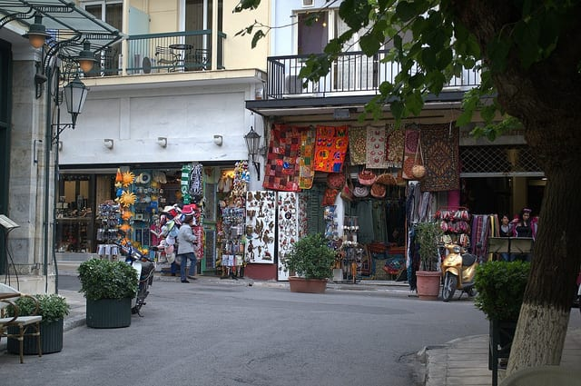 monastiraki street