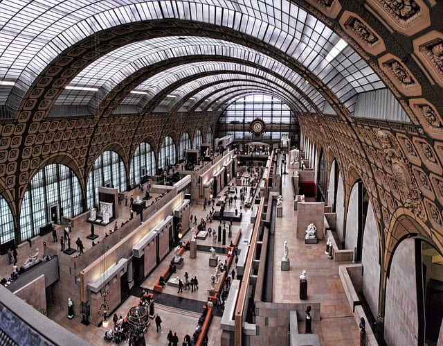 Gare Musée d'Orsay, Paris, France