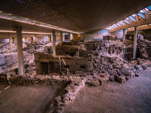 Akrotiri-Minoan-Site