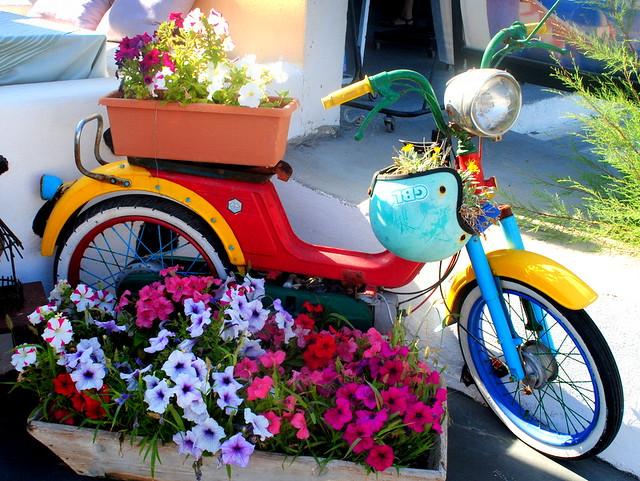 bike santorini