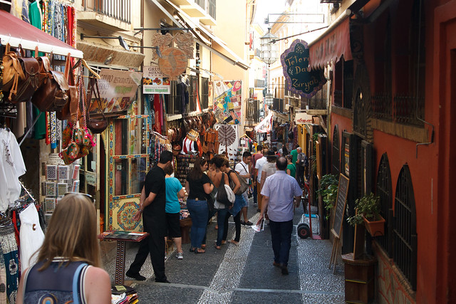 Granada Calle Calderería Nueva