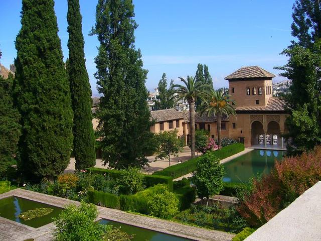 Granada Jardines del Partal