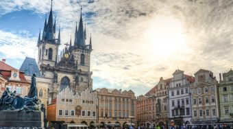 Prague- square