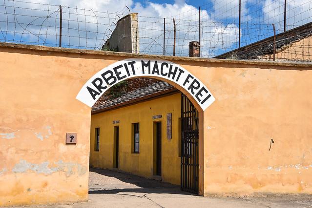 Prague Terezín Concentration Camp
