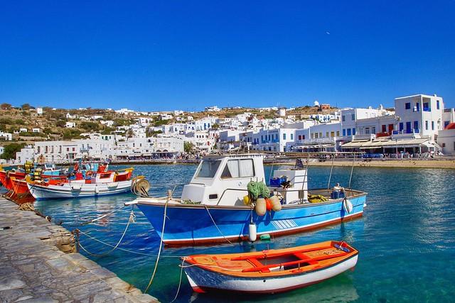mykonos sea taxi